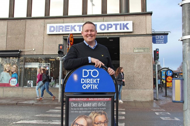 Direkt Optik ny medlem i effect plus+